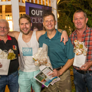 OUTClique - Media Sponsor with Passport winners!